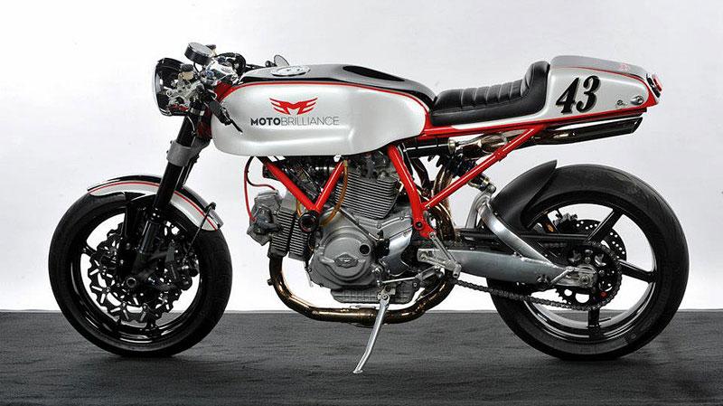 Ducati Cafe Racer od Moto Brilliance: - fotka 6
