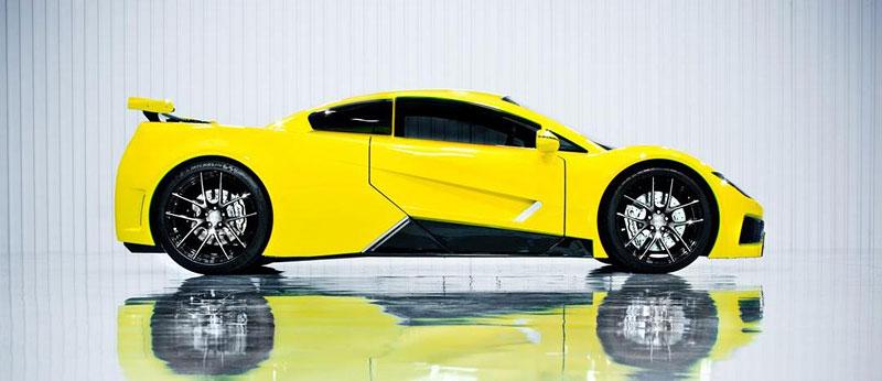 Arash AF8: Britský supersport se 7,0 V8 (410 kW): - fotka 14