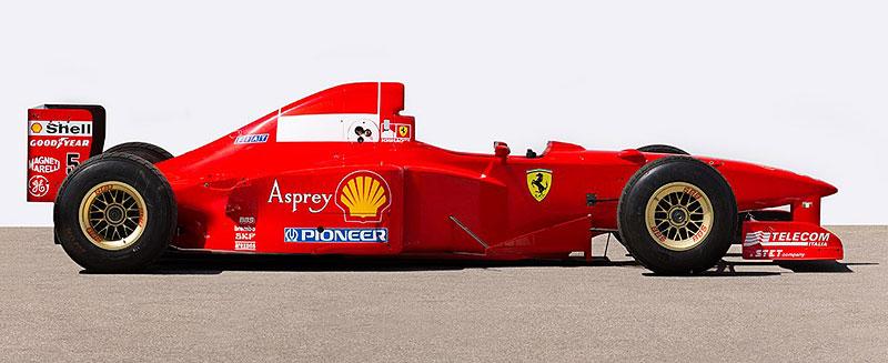Formule 1 po Schumacherovi je k mání za 18 milionů korun: - fotka 5