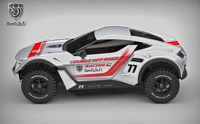 Zarooq Motors Sand Racer: Arabský supersportovní off-road bude mít přes 500 koní: - fotka 7