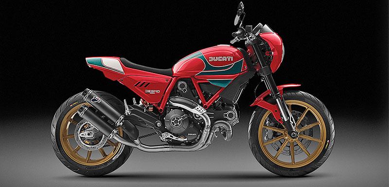 Ducati Scrambler Mike Hailwood Edition: Pocta z Thajska: - fotka 2