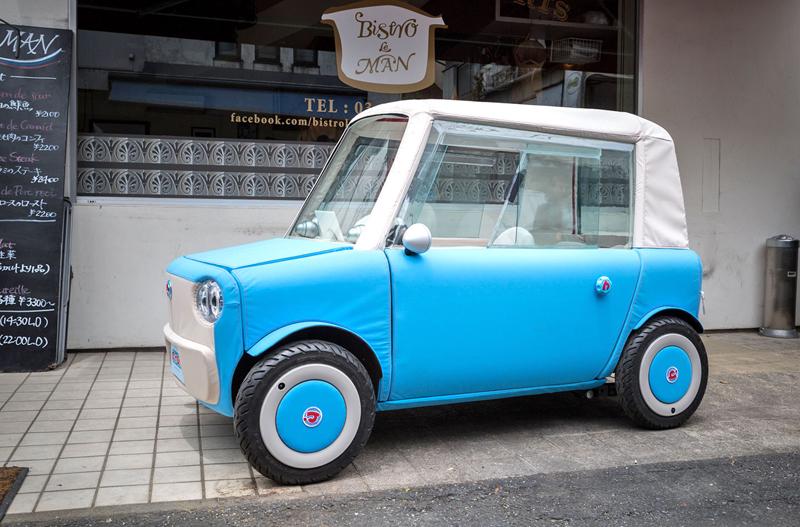 Rimono EV: Elektrický hadraplán z Japonska? Už příští rok: - fotka 11