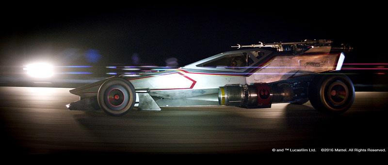 Hot Wheels X-Wing Carship: Vesmírná stíhačka na kolech (+video): - fotka 1