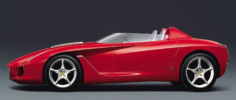 Pod lupou: Pininfarina Ferrari Rossa (2000) - Speedster k narozeninám: - fotka 10