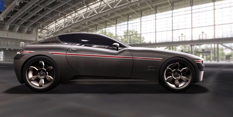 VW SP-2 Concept: Scirocco by mohlo mít sourozence: - fotka 12