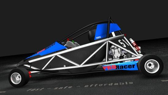 Hyper PRO Racer: Supermotokára s hmotností jen 160 kilogramů!: - fotka 6