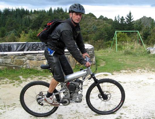 Horské moto-kolo z Nového Zélandu: - fotka 2