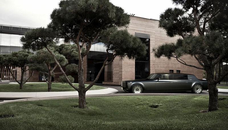 ZiL Concept: budoucnost prezidentských limuzín: - fotka 12