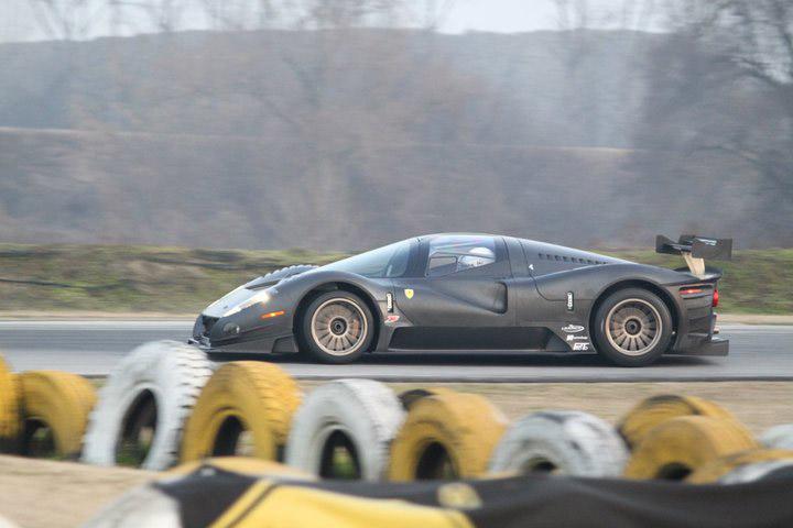 Ferrari P4/5 Competizione poprvé na trati: - fotka 12