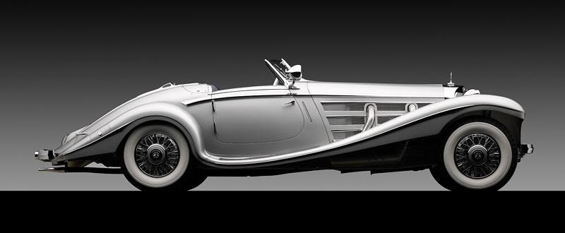 Monterey: ke dražbě se chystá skvostný Mercedes-Benz 540K Spezial Roadster!: - fotka 2