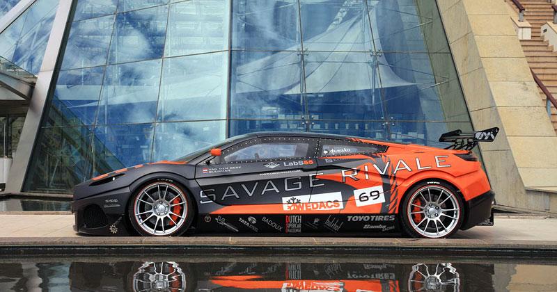 Savage Rivale GTR pózuje v Monaku: - fotka 7