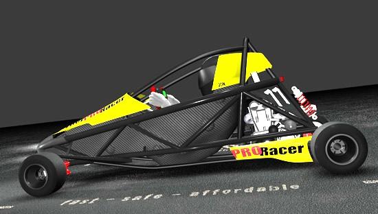 Hyper PRO Racer: Supermotokára s hmotností jen 160 kilogramů!: - fotka 7