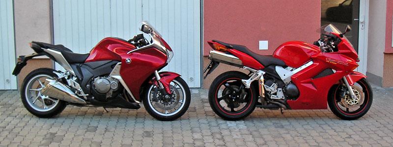 Dueltest - Honda VFR1200F vs. VFR800VTEC (generační srovnání): - fotka 16