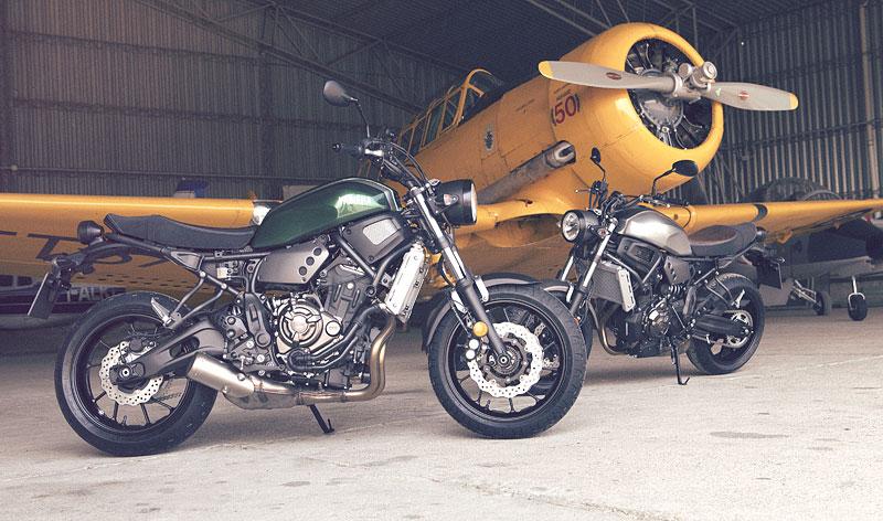 Yamaha XSR700: Rychlý potomek: - fotka 14