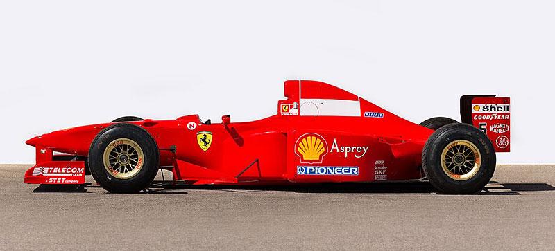 Formule 1 po Schumacherovi je k mání za 18 milionů korun: - fotka 6