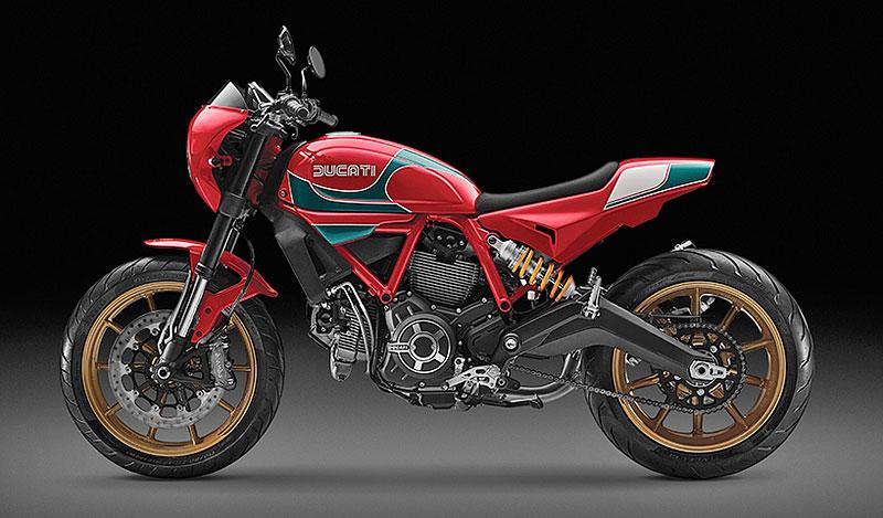Ducati Scrambler Mike Hailwood Edition: Pocta z Thajska: - fotka 3