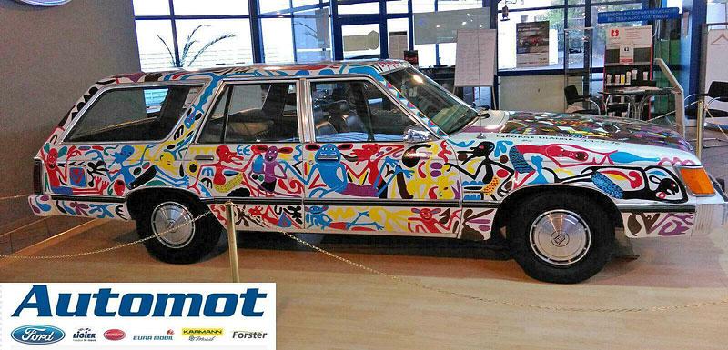 Německý prodejce chce za starý kombík od Fordu 25 milionů. Je to prý umělecké dílo: - fotka 4