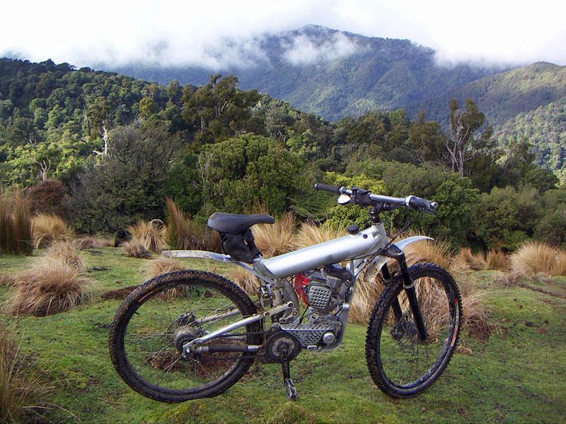 Horské moto-kolo z Nového Zélandu: - fotka 4