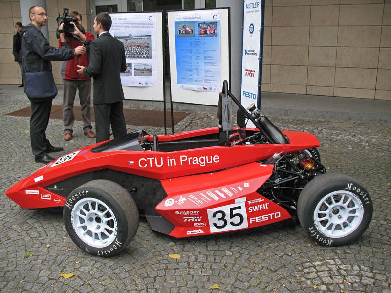 CTU CarTech FS.02: Studentská formule z pražského ČVUT: - fotka 17