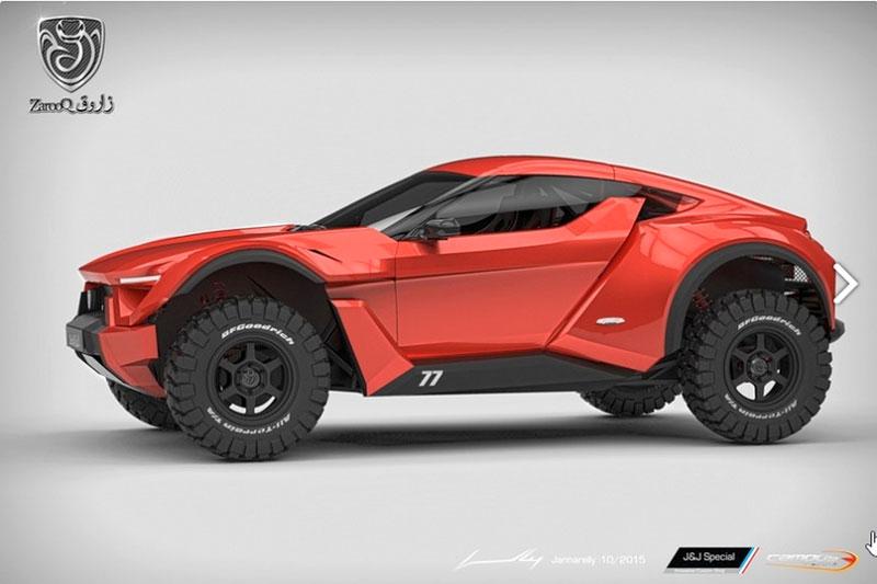 Zarooq Motors Sand Racer: Arabský supersportovní off-road bude mít přes 500 koní: - fotka 9