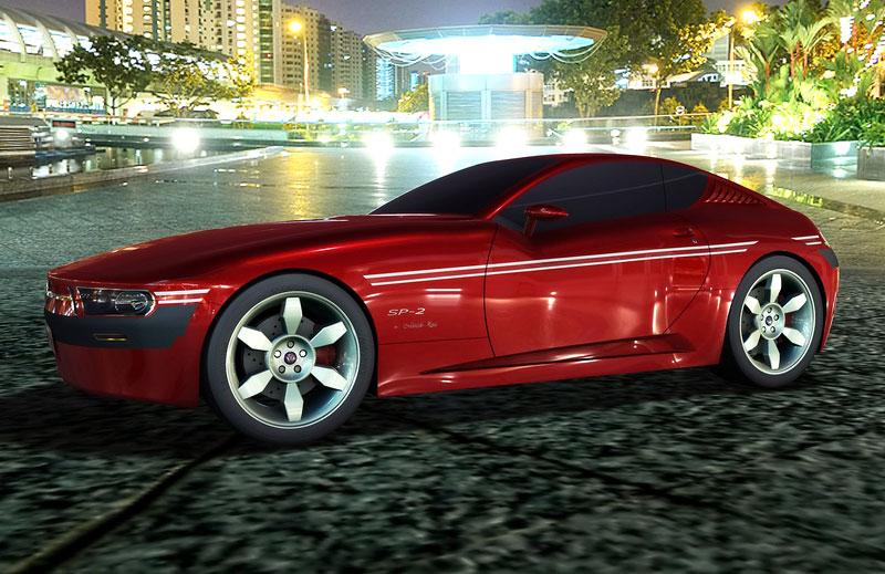VW SP-2 Concept: Scirocco by mohlo mít sourozence: - fotka 15