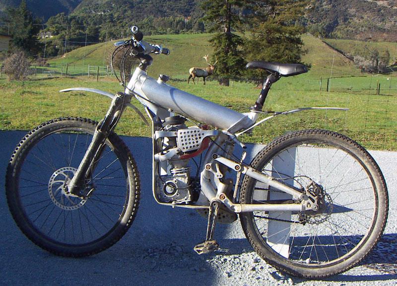 Horské moto-kolo z Nového Zélandu: - fotka 5