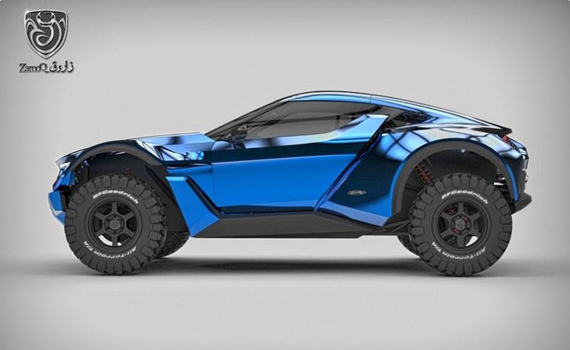 Zarooq Motors Sand Racer: Arabský supersportovní off-road bude mít přes 500 koní: - fotka 10