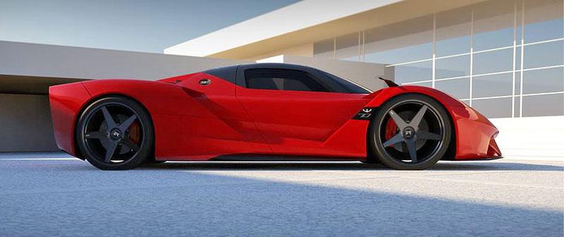 Exotic Rides W70: Nový supersport z Floridy: - fotka 13