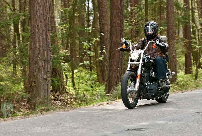 Za řídítky Harley-Davidson: Electra Glide, Road King a V-Rod: - fotka 25