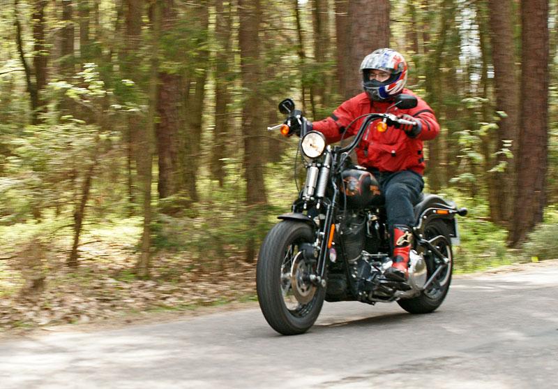 Za řídítky Harley-Davidson: Electra Glide, Road King a V-Rod: - fotka 28