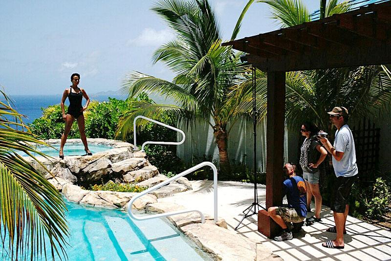 Jak se fotil kalendář Miss Tuning 2010: - fotka 34