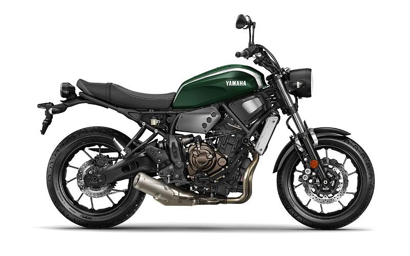 Yamaha XSR700: Rychlý potomek: - fotka 18