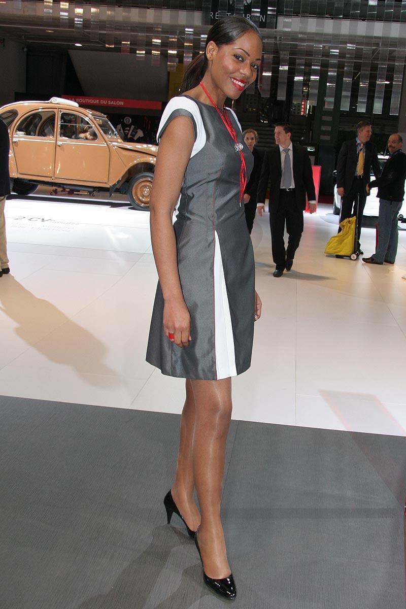 Paříž 2008: Hostesky tradičně i netradičně: - fotka 16