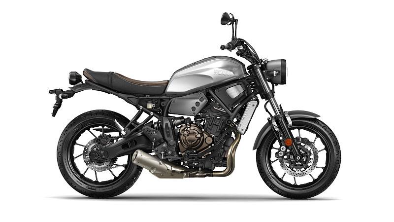 Yamaha XSR700: Rychlý potomek: - fotka 20