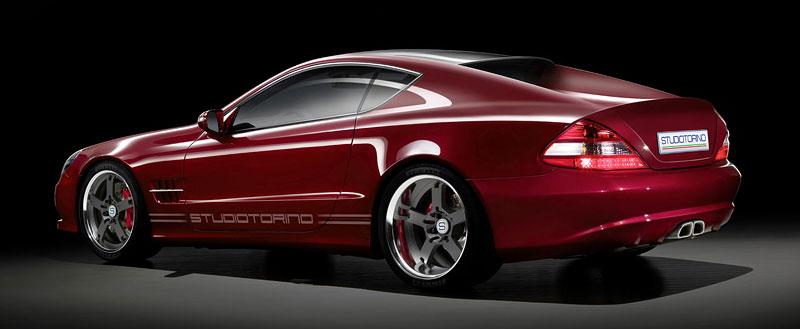 Studiotorino Coupetorino: nová střecha pro Mercedes-Benz SL: - fotka 4