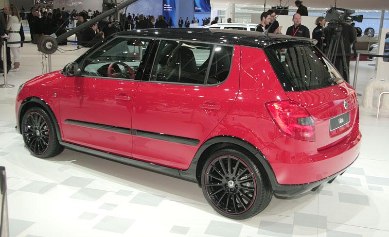 Autosalon Ženeva: Škoda Fabia Sports Design Concept: - fotka 26