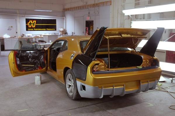 HPP Dodge Challenger Daytona Concept: - fotka 25