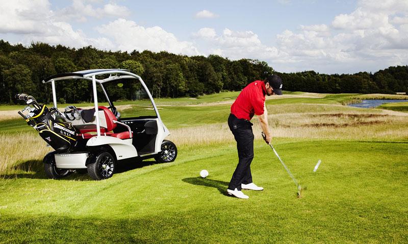 Garia: luxusní vozík pro milovníky golfu: - fotka 24