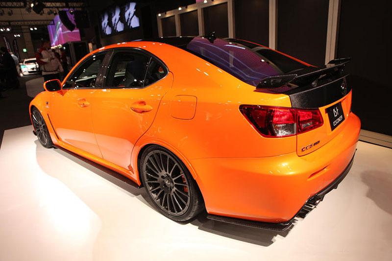 Lexus: IS F jako odlehčený speciál: - fotka 11