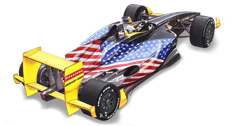 Lola: další možné šasi pro IndyCar: - fotka 3