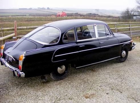Tatra 603: jeden kousek na prodej až daleko v USA: - fotka 6