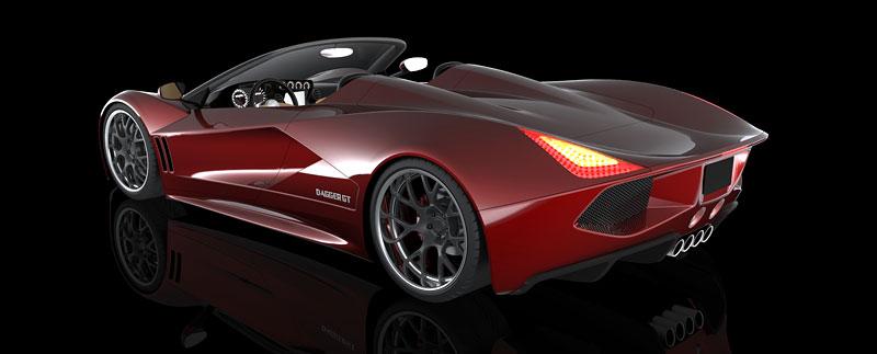 TranStar Dagger GT: supersport s výkonem 2000 koní: - fotka 14
