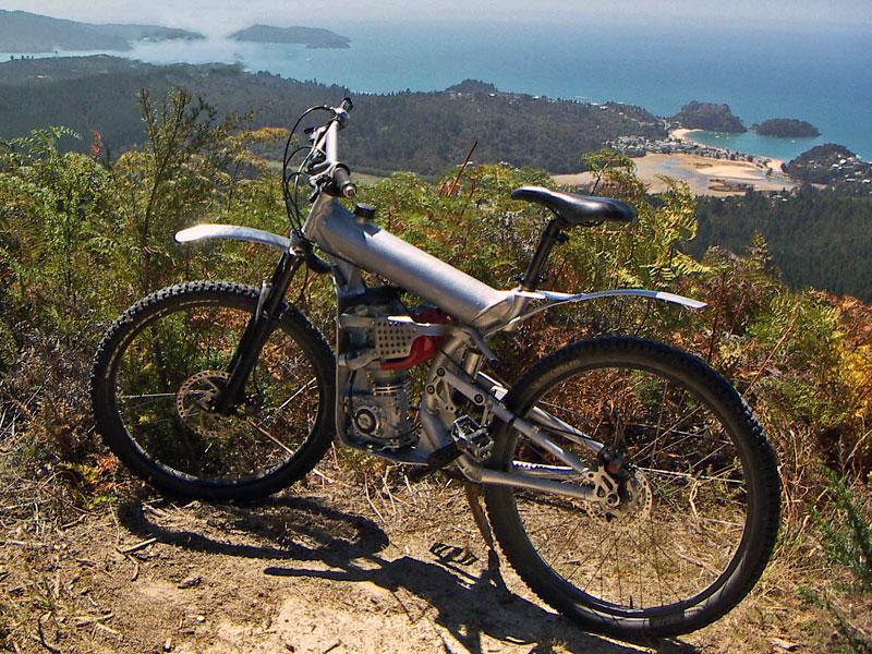 Horské moto-kolo z Nového Zélandu: - fotka 6