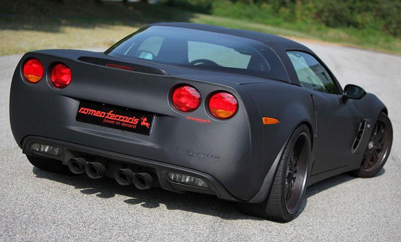 Corvette Z06 Romeo Ferraris: hamburger se špagetami: - fotka 13