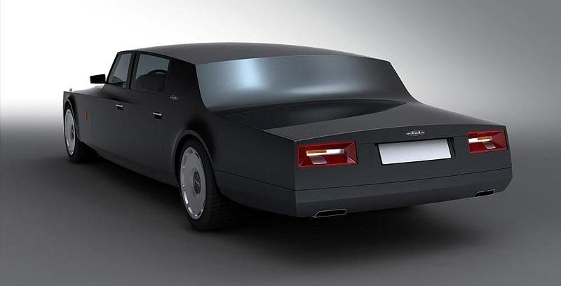 ZiL Concept: budoucnost prezidentských limuzín: - fotka 13