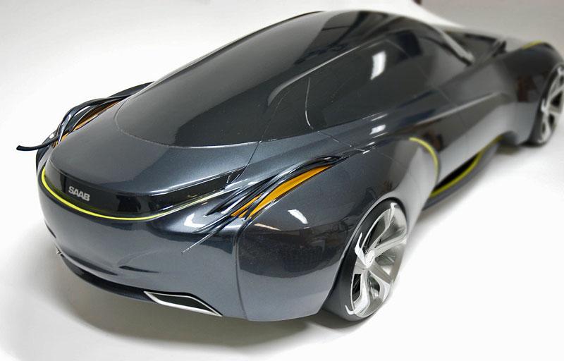 Saab: koncept sedanu pro rok 2025: - fotka 6