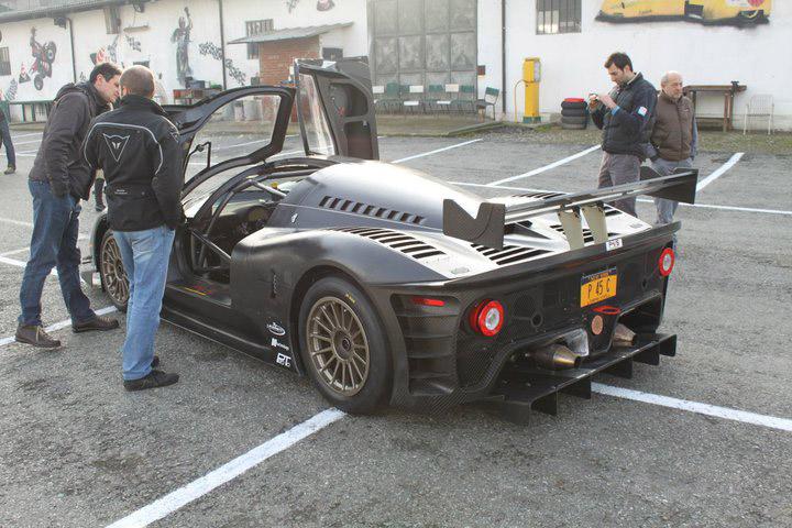 Ferrari P4/5 Competizione poprvé na trati: - fotka 15