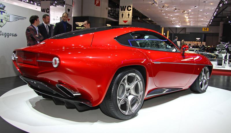 Carrozzeria Touring Superleggera Disco Volante: Z nehybného modelu produkční sportovec: - fotka 8
