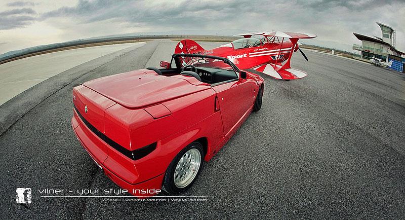 Vilner Il Mostro: Alfa Romeo RZ jako ze škatulky: - fotka 12