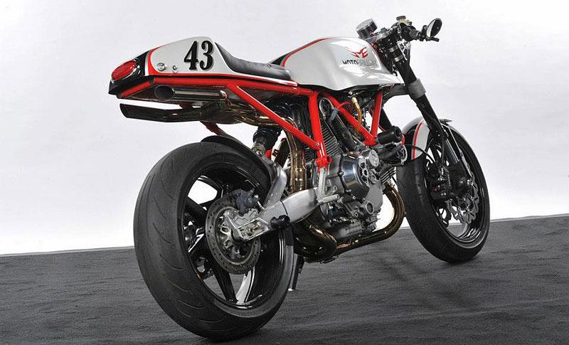 Ducati Cafe Racer od Moto Brilliance: - fotka 7